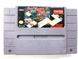 Street-Fighter-II-2-SUPER-NINTENDO-SNES-Game-Tested-Working-amp-Authentic