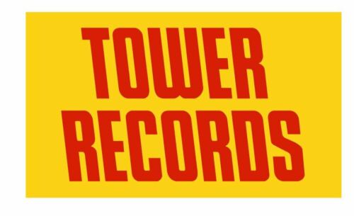 Tower Records Sticker Decal R829