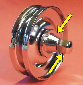 VW-Kaefer-Befestigungssatz-CHROM-034-an-Generatorscheibe-Lichtmaschine-010-1141