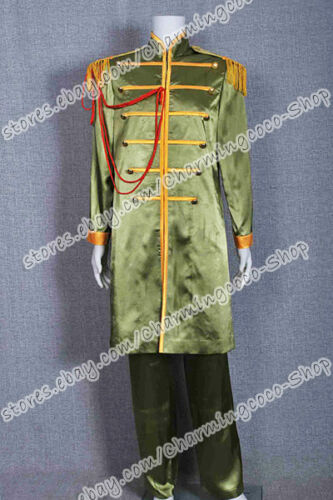 The Beatles Sgt Pepper John Winston Lennon Cosplay Costume Yellow Outfits Cool