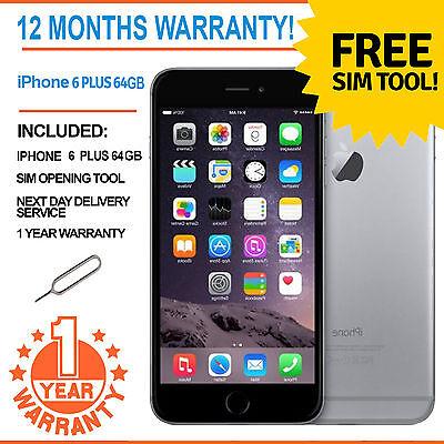 Apple iPhone 6 Plus 64GB Factory Unlocked - Space Grey