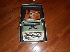 Vintage Royal Sabre Typewriter With Case