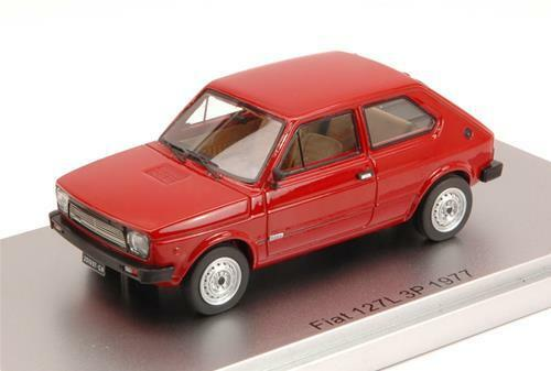 Fiat 127L 3P 1977 rouge Oxide Ed.Lim.Pcs 250 1 43 Kess Model KS43010071