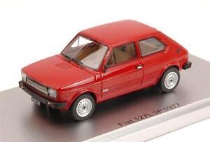Fiat-127L-3P-1977-Red-Oxide-Ed-Lim-Pcs-250-1-43-Kess-Model-KS43010071