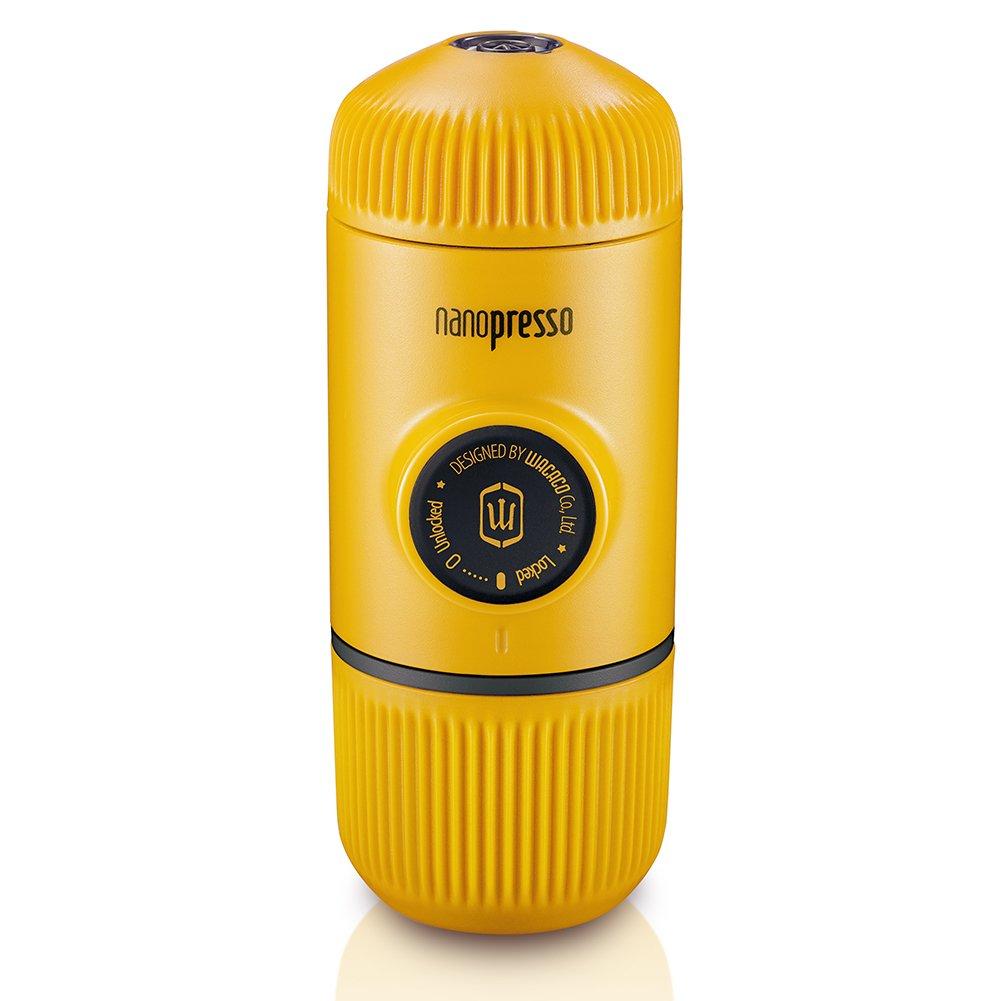 Wacaco nanopresso portable Espresso Maker, Upgrade Version De minipresso, 18 Bar