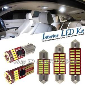 LED-INTERIOR-UPGRADE-KIT-BULB-SET-XENON-WHITE-LIGHT-FOR-AUDI-S4-B7-SALOON-04-08