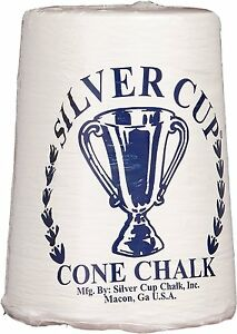 White-Silver-Cup-Pool-Cone-Hand-Chalk-Talc-Billiard-Table-Accessory-Player-Gift