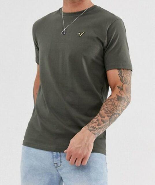 Mens T-Shirt by Voi Jeans 'Hartford' Short Sleeved Size: M  Color: Khaki