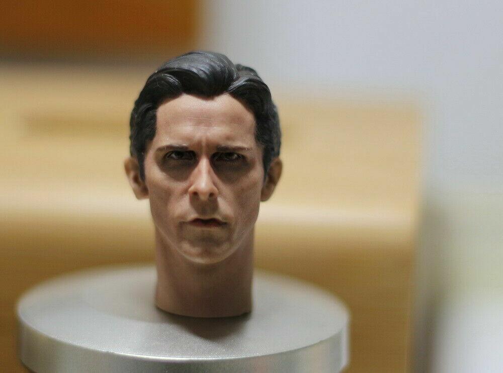 1:6 Scale Male Christian Bale Batman Batman Batman Man Head Sculpt For 12'' Action Figure Gift 6bbc5a