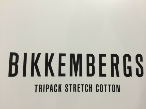 Boxer Bikkembergs intimo elastico ricamato confezione tre pezzi o pezzo singolo.