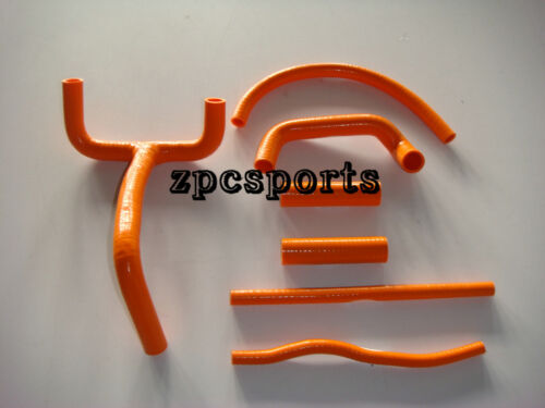Orange New Genuine KTM LC4 620 625 640 660 SILICONE radiator hose kit