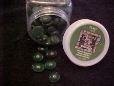 Gallery Glass Stained Glass Inlay Green Nuggets by Vicki Payne 8 oz Bottle
