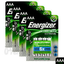 16 x Energizer Rechargeable AAA batteries Accu Recharge Extreme NiMH 800mAh HR03