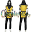 Mortal-Kombat-X-Scorpion-Cosplay-Costume-custom-made-v02 thumbnail 2