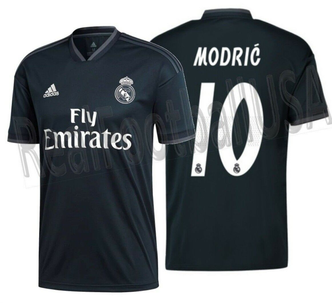 Adidas Luka Modric Real Madrid Away Jersey 2018 19