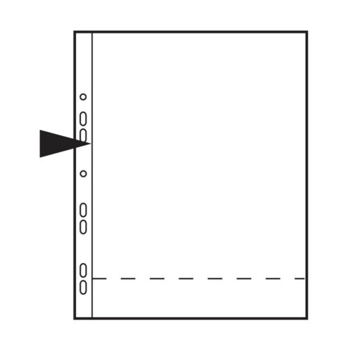 """Kenro Foto páginas para Ringbinders contiene 2 fotos tamaño 8x10/""""Paquete de 10"""