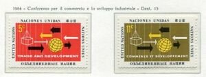 19057) United Nations (New York) 1964 MNH Trade And Development