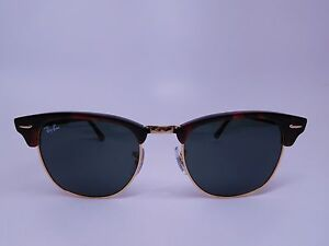 111ed95e838 Image is loading Ray-Ban-RB-3016-Clubmaster-Sunglasses-Unisex-100-
