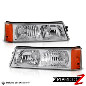 2003-2006-Chevy-Silverado-03-05-Avalanche-Factory-Style-Turn-Signal-Bumper-Light