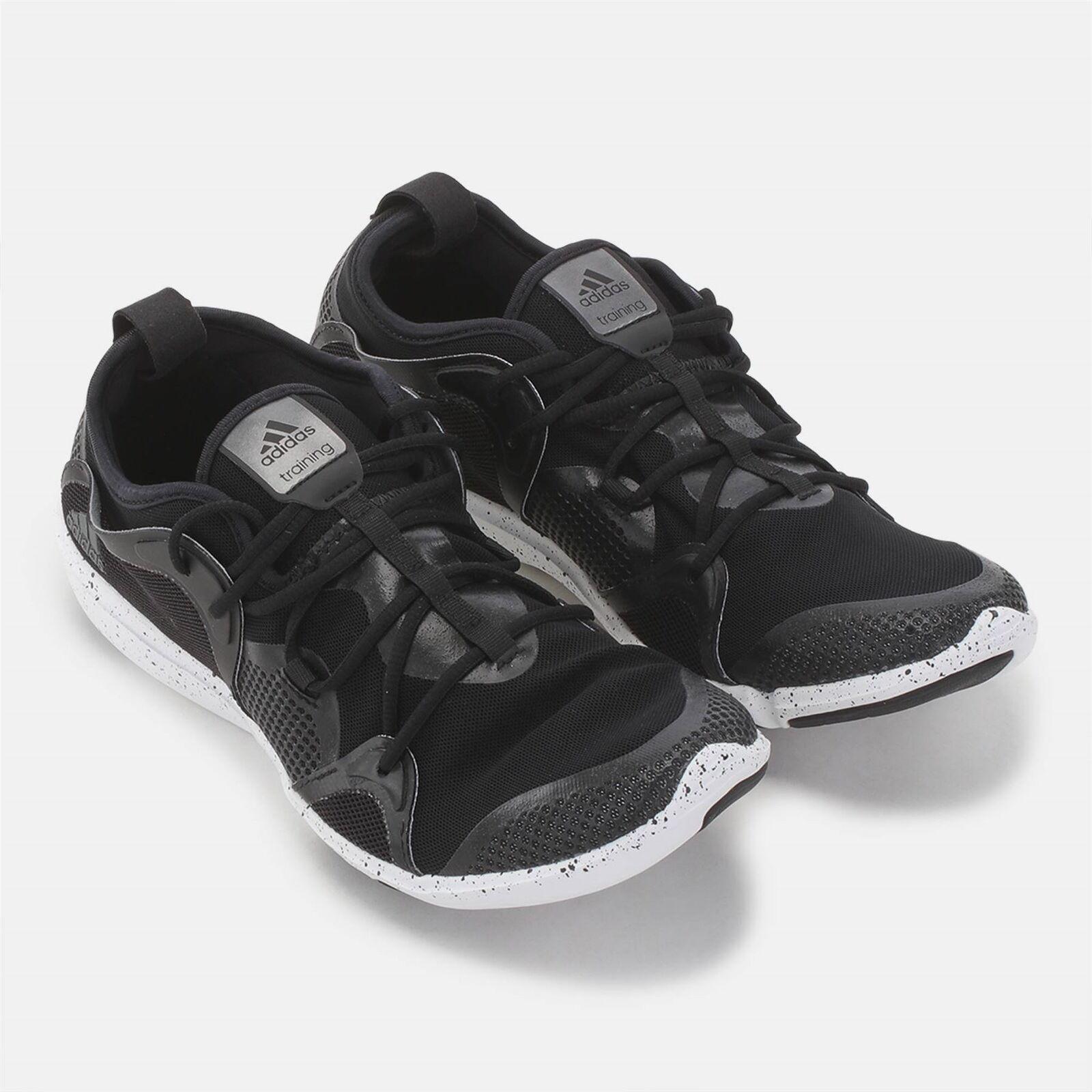 Adidas Adipure 360.4 Zapatillas Para Mujer Negro Zapatos Tenis Entrenamiento Gimnasio Fitness
