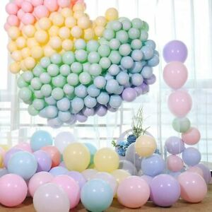 "10/"" CHROME BALLOONS METALLIC LATEX PEARL Baloon Birthday Baby Shower Party UK"