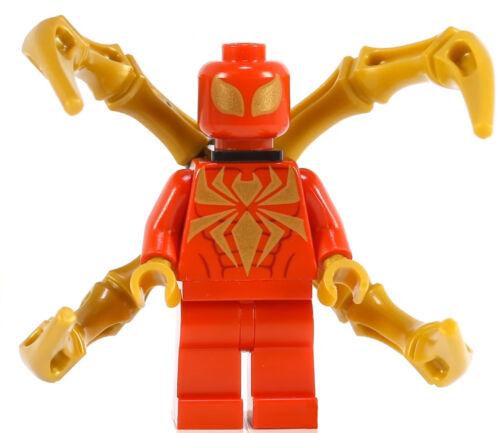 Lego Marvel Minifigure Spiderman Iron Spider Version 76037 NEW RARE