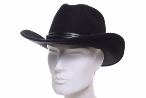 Faustmann Westernhut schwarz Cowboy Hut Western Hüte Wo