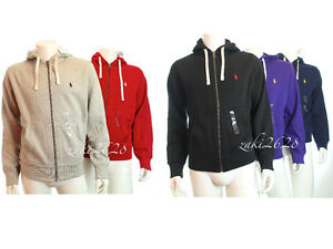 BNWT-RALPH-LAUREN-POLO-MENS-CLASSIC-FLEECE-HOODIE-HOODED-MORE-SIZE-COLOUR