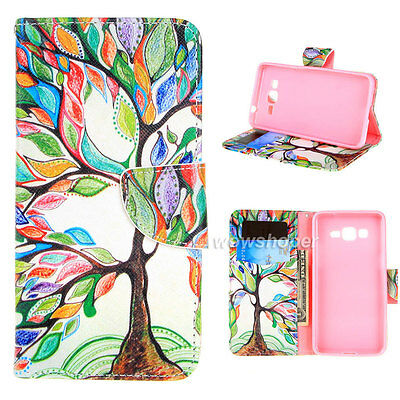 Magnetic Flip Wallet F84 PU Leather Card Stand Case Cover For Various Phone