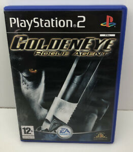GOLDENEYE-ROGUE-AGENT-PLAYSTATION-2-PS2-PS-2-JAMES-BOND-007-FPS-Complete-Tested