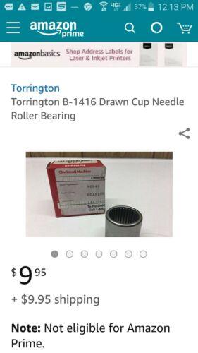Torrington B-1416 Clutch roller bearings