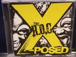 The R.O.C. - X-Posed CD 2nd Press twiztid house of krazees insane clown posse