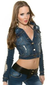 Jacket Stretch Sexy Femme Femme Apparence Short Jeans qwvSCO