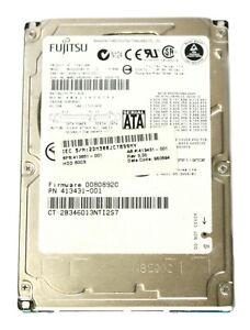 """FUJITSU MHV2060BH CA06672-B25100C 2.5"""" 60GB SATA 5400 RPM Hard Disk Drive [5263]"""