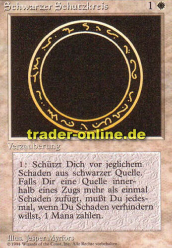 Circle of Protection: Black Magic limited black borde 2x Schwarzer Schutzkreis