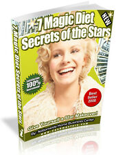 7 MAGIC DIET SECRETS OF THE STARS PDF EBOOK FREE SHIPPING RESALE RIGHTS