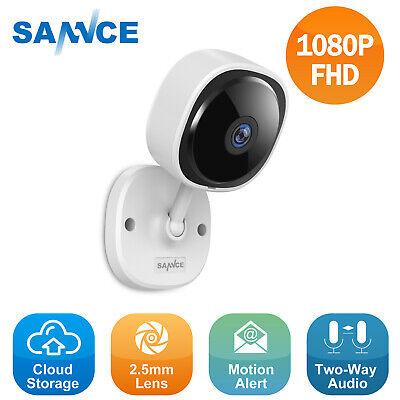 SANNCE Pan Tilt 720p HD Wireless IP Network IR Home Security Camera 2-Way Audio