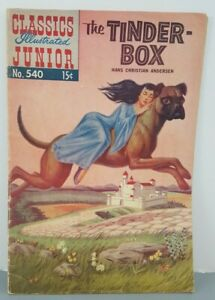 CLASSICS ILLUSTRATED JUNIOR #540 - THE TINDER-BOX - Hans Christian Anderson
