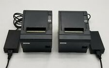 Epson Tm T88iiip M129c Pos Ethernet Usb Thermal Receipt Printer Withps Lot 2
