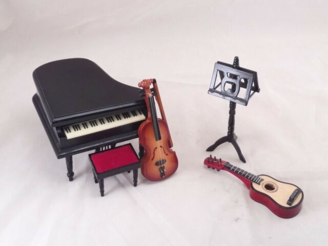 Musical Instruments music room GM014 miniature dollhouse furniture wooden 1-12