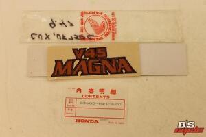 HONDA-NOS-VF750-1982-83-EMBLEM-V45-MAGNA-83605-MB1-670