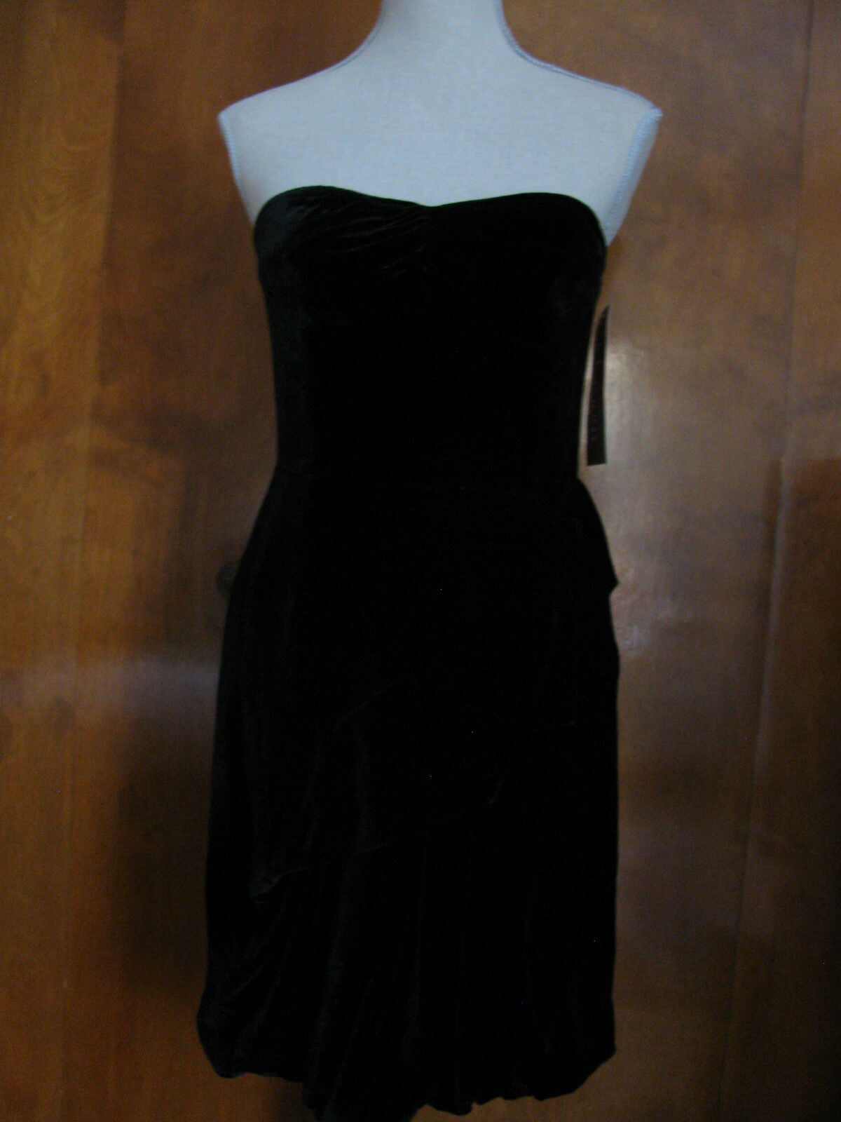 Marc by Mark Jacobs Woherren schwarz Cotton Silk Cocktail Evening Dress 6 NWT