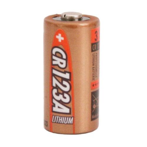 3 voltios 10x Ansmann cr123a batería de litio 1450 mAh Batería de fotos 123a