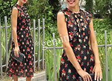 Zara size m MIDI Lace guipure floral embroidered dress vestido de encaje bordado