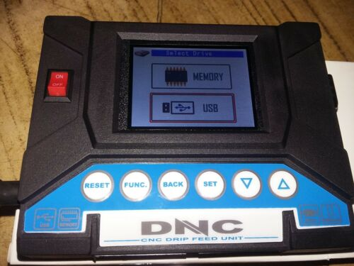 DNC-TITAN CNC DNC transfer system RS 232 To USB Reader Drip Feeder