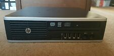HP DC 8200 Ultra Delgado, 4GB Ram, 250GB HDD, Intel Pentium G620 Procesador de 2.6 GHz
