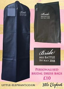 Personalised-Extra-Large-Bridal-Wedding-Dress-Bag-Cover-Carrier-In-Black