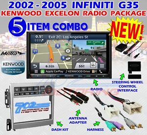 Details about METRA 95-7605 2005-2007 INFINITY G35 COUPE 2005-06 SEDAN +  KENWOOD DNX893S NEW!