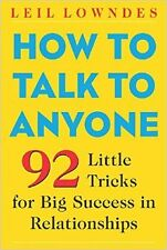[EBOOK] How to Talk to Anyone: 92 Little Tricks For Big Success In Relationships
