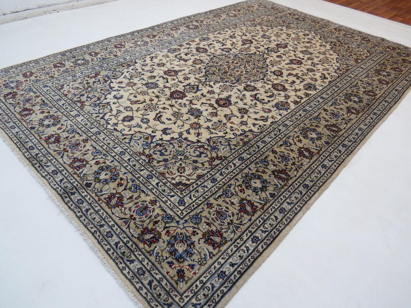 Original handgeknüpfter Perserteppich 312x200 Orientteppich Orientteppich Orientteppich Neuwertig Kashan d39a18